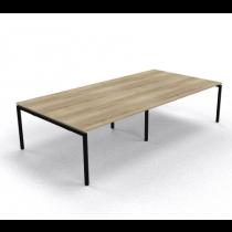 Vergadertafel Arca rechthoek 320x160 cm