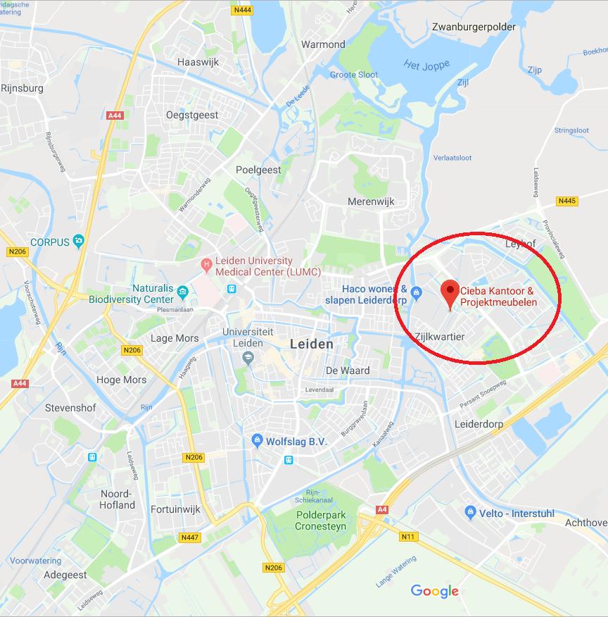 Leiden bureaustoel kopen